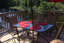 Have your meals outside with beautiful view