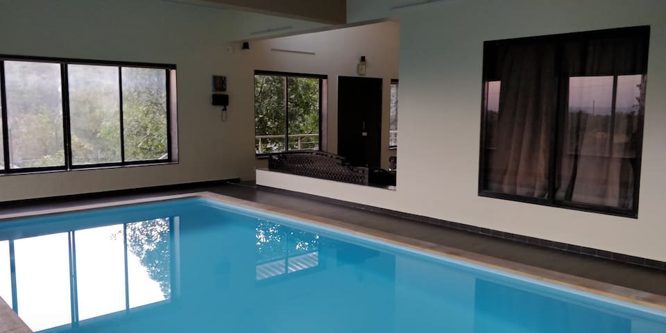 Hilltop 3 BHK Villa with Indoor Swimming Pool