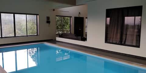 Hilltop 3 BHK Villa with Indoor Swimming Pool