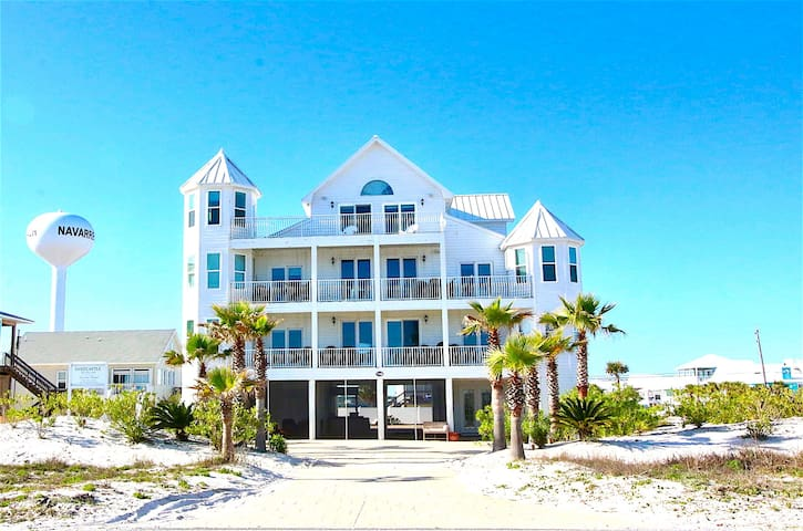The Sandcastle - Navarre Beach, FL  Sleeps 20+