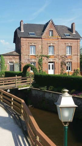 Le moulin de la Bethune - sleeps 10 - Neuville-Ferrières - Ev