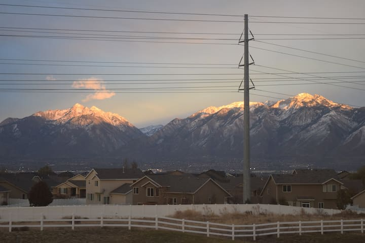 Nice S. Salt Lake Valley Townhome - Herriman - Radhus
