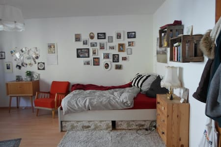 Großes Zimmer zum Wohlfühlen in Stadtnähe - Würzburg