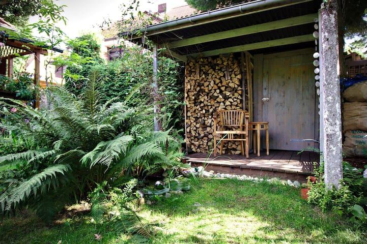 Garten hintern Haus