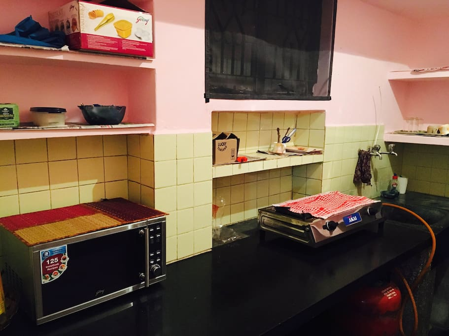 Fully functional and dedicated kitchen