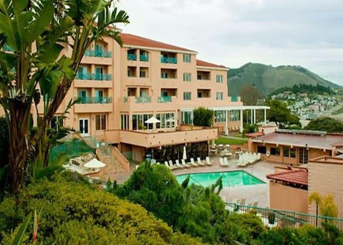San Luis Bay Inn, Sleeps 4-6 from 6/10-6/17/2016. - Avila Beach