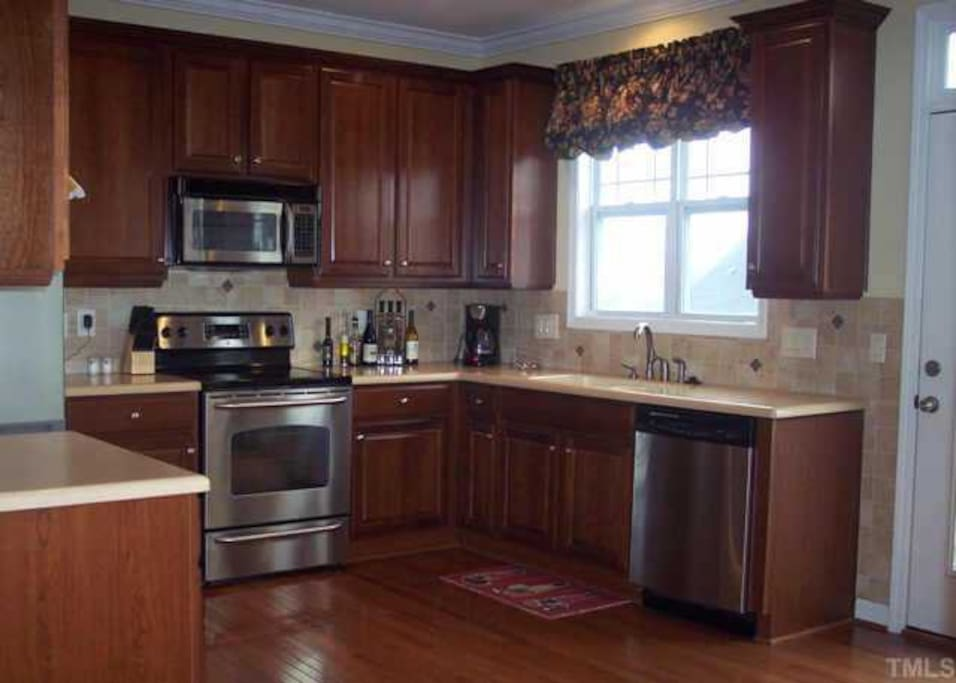 Kitchen is located on the 2nd Floor
