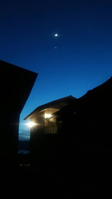 Night at Rumah Biru