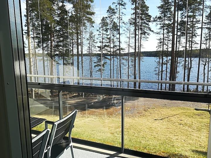 Laatu huoneisto Saimaa näkymällä- Luxury apartment