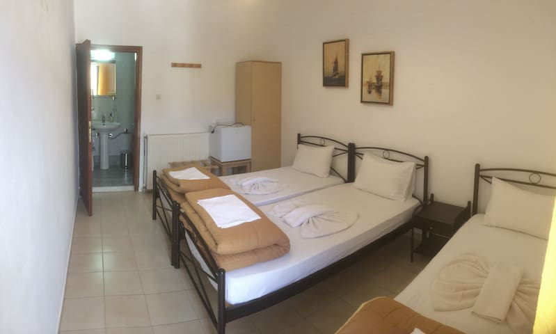Platanos Anopoli Sfakia Mountain View triple room - Rethymno - Byt