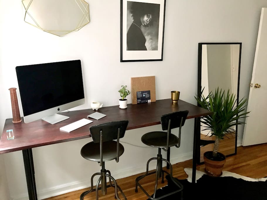 Workspace & creative space.