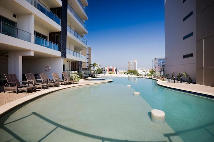 Darwin on Knuckey -  Luxury 1 BDR Apartment&View