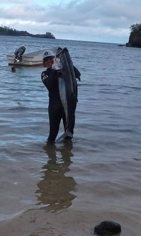Yanuca Island homestay and spearfishing