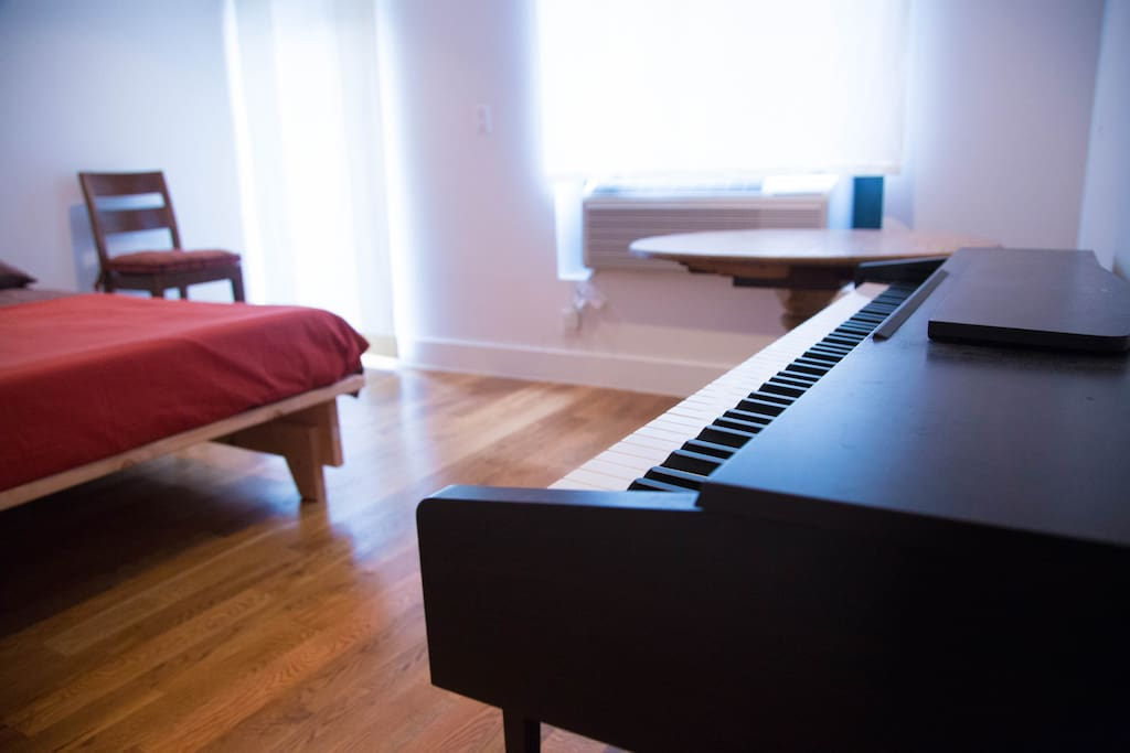 Learn a tune or two on the piano.