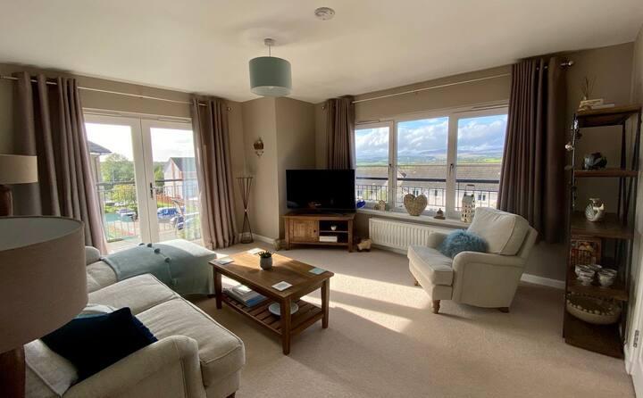 Stylish, modern apartment in historic Dunblane