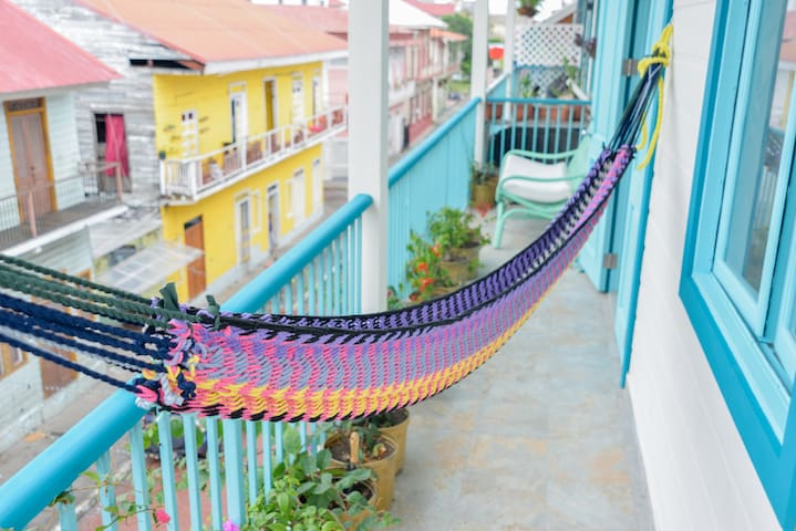 Bocas style in Casco Viejo - Panamá - Appartement