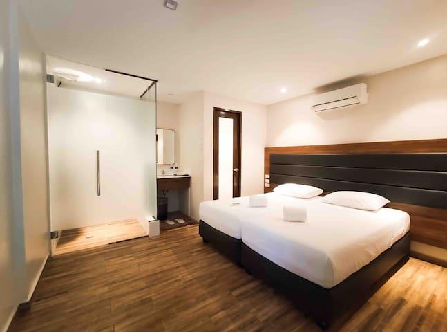 The Hub District Garden Suites Deluxe Room