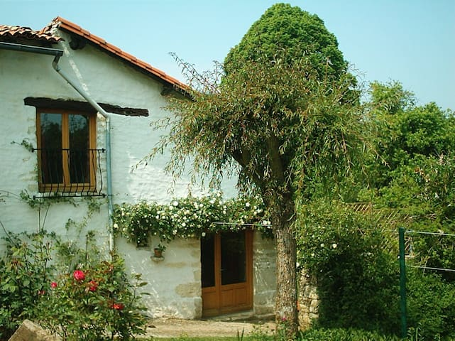 Rose Cottage  - sleeps 2ad, 2ch + baby - Saint-Pierre-d'Exideuil - Maison
