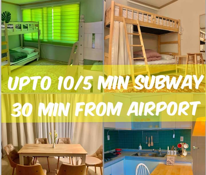 <cheap> BEST LOCATION- 30 MIN FROM AIRPORT/UPTO 10