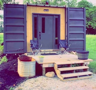 The Fox Den. Shipping Container on 35 Acres