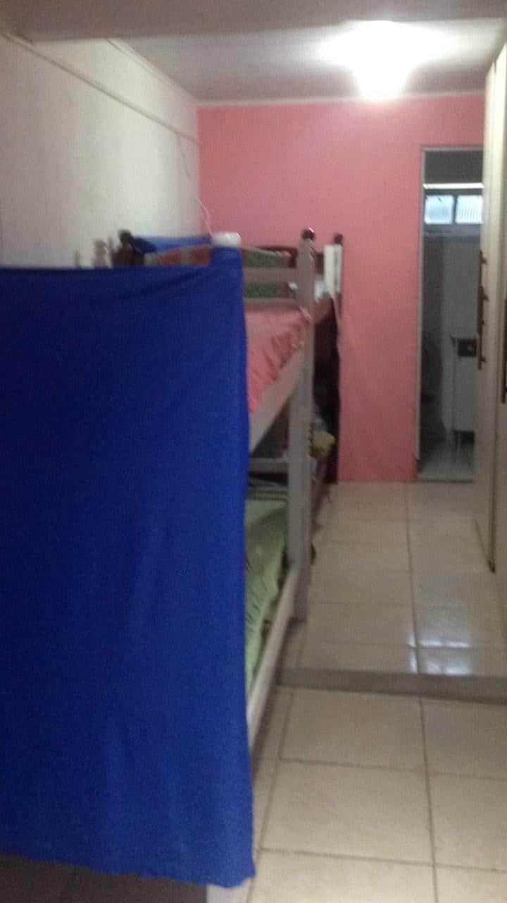 Quarto/Cama em Beliche para Mulheres em Itajaí-SC