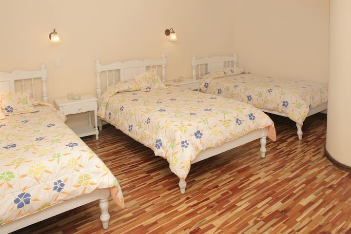 Triple room near the train. - Alausi - Pousada