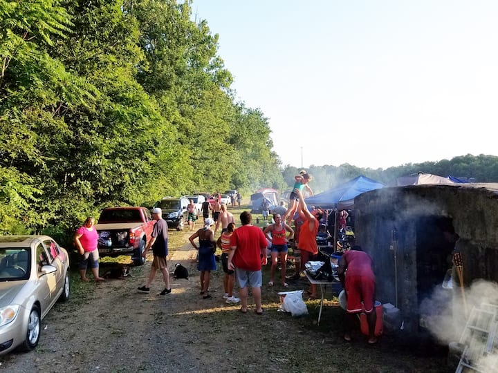 Compound Camp Site #1