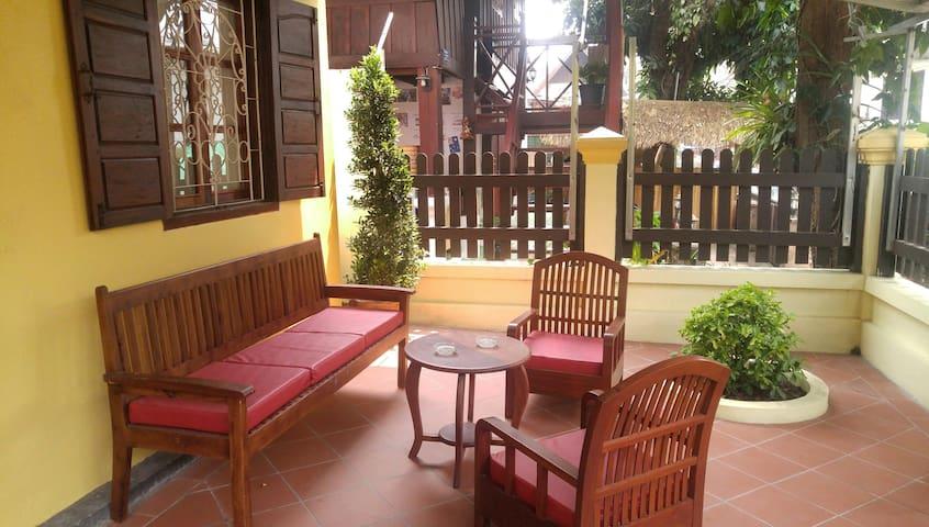 Quiet room in the heart of Luang Prabang