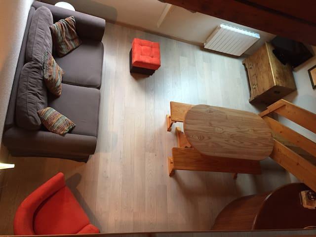 Très agréable T2 Cab duplex 4/6 pl - Сен-Лари-Сулан - Квартира