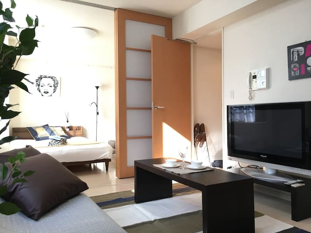 Studio apartment in central Tokyo
