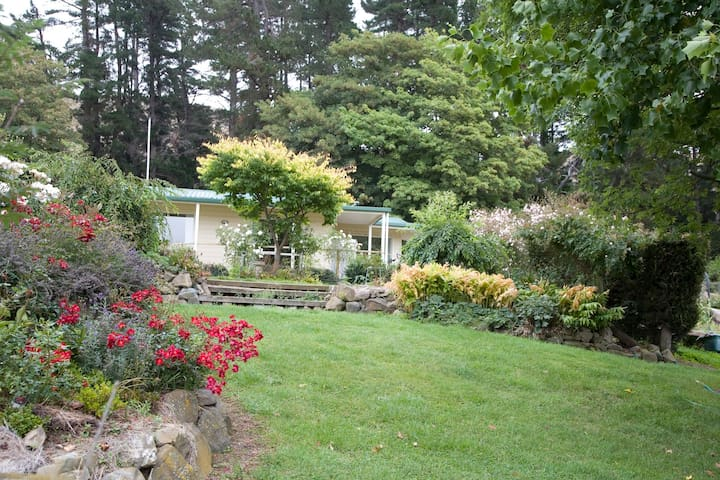 Situated in beautiful established garden