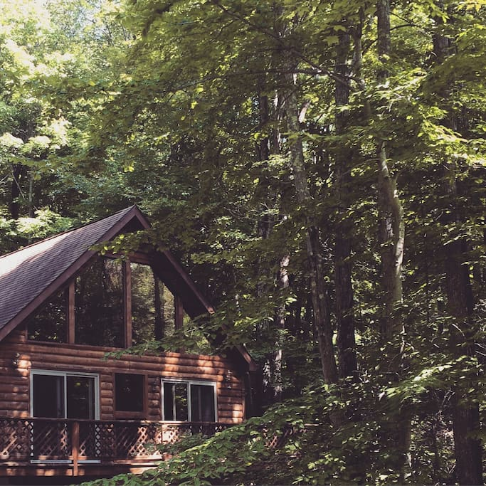 Camp caitlin cabins for rent in hawley pennsylvania for Lake wallenpaupack fishing report