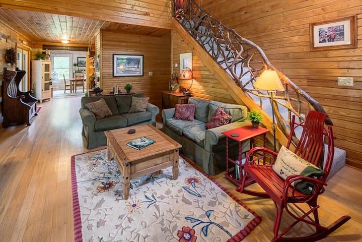 River's Edge Cabin - Banner Elk - Casa