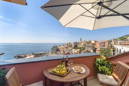 Loft on the beach - Bogliasco