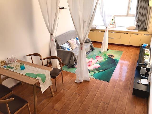 大商·现代中式·荷塘月色·飘窗+投影