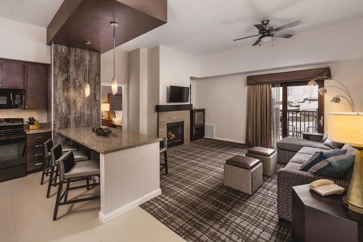 2 BR/2BA VIP Wyndham Resort:  Fireplace+Ski In/Out - Park City - Pis