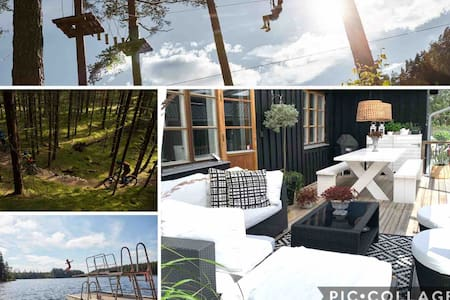 Modern Villa 15 min from Isaberg Mountain Resort
