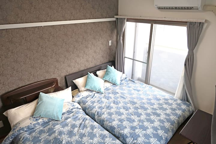 ☆Free rent car☆NewAP 1room ☆Best for sightseeing