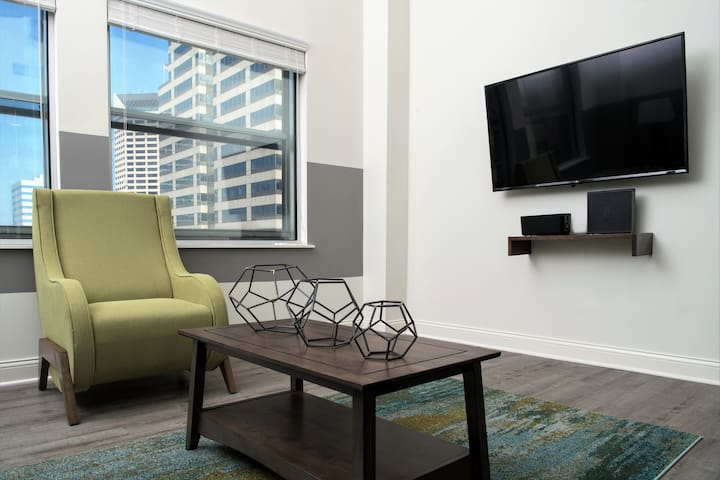 Bold One Bedroom at Penn Street Tower