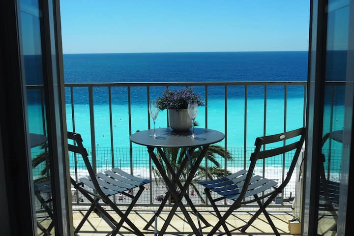 ****Studio apartment with SEA VIEW & BALCONY****
