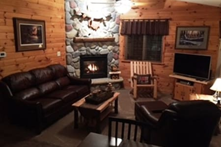 """A comfortable """"northwoods"""" experience!"""