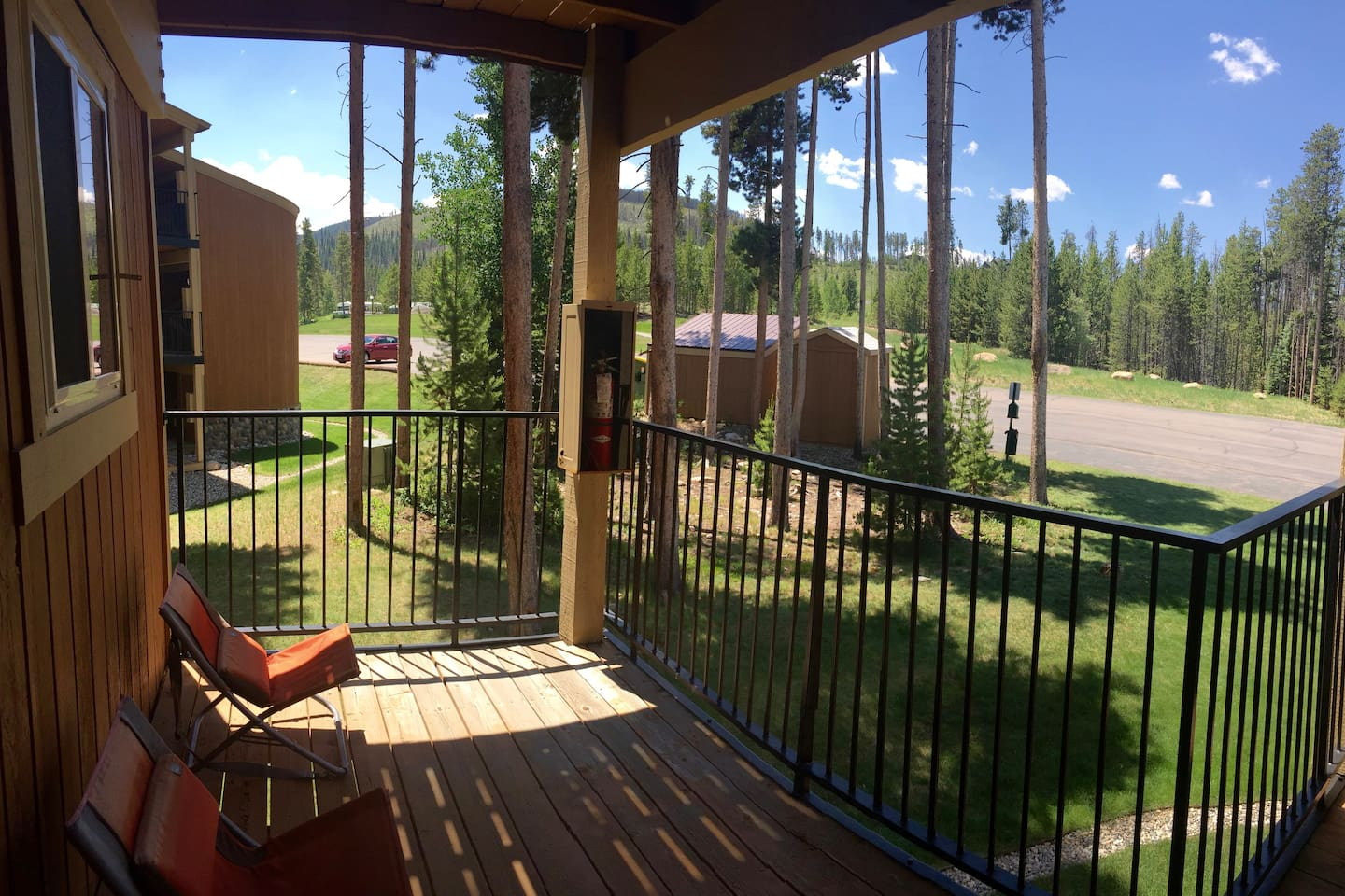Front deck view - super quiet and peaceful.