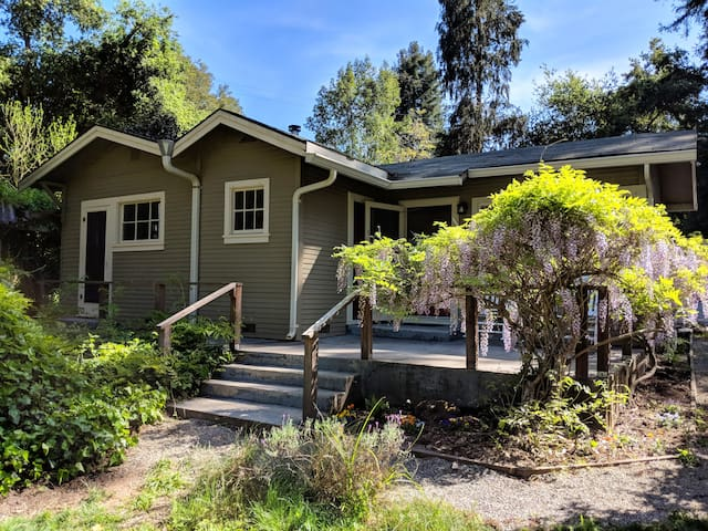 Felton Forest Cottage Near Henry Cowell State Park
