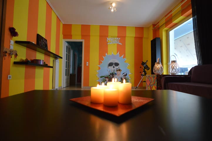The MonKay Island ★ Videogame Home - Nea Ionia - Apartamento