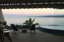 NEW Beachfront Penthouse at Punta Majahua