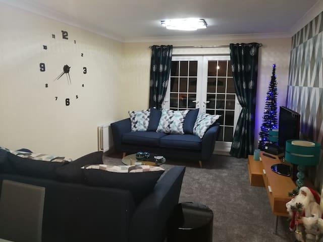 Stunning luxury ground level apartment!