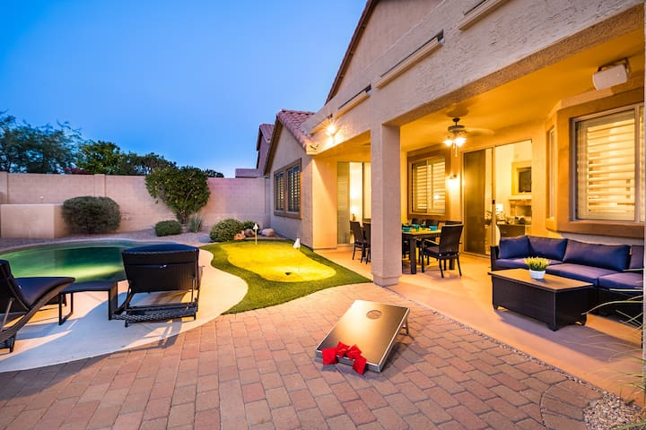 Heated Pool, Putting Green, Game Room, Prime Area
