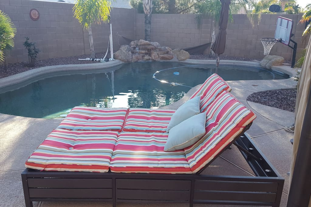 Daybed to soak in AZ sun