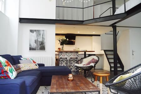 Loft in the heart of Montorgueil district - Paris