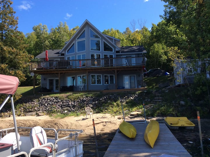 The Lake House- life is just better at the lake!